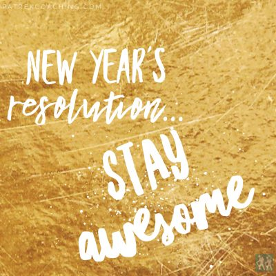 New Year's Resolutions for Pre-PAs